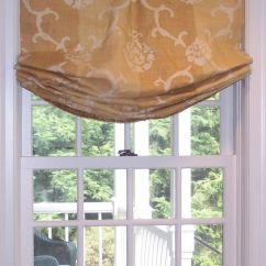 Kitchen Window Shades Outdoor Creations Relaxed Roman Shade | Flickr - Photo Sharing! Draperies ...