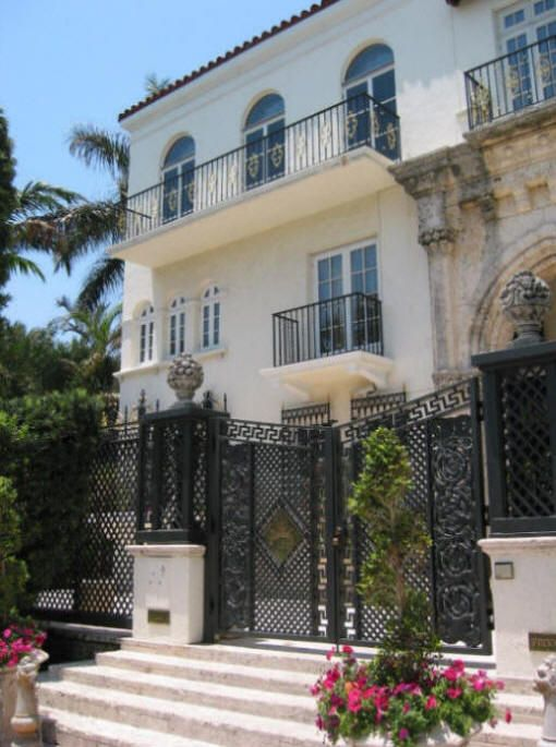 Versace Mansion of Donatella Versace  VERSACE MANSION and