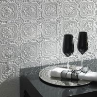 allen + roth Paintable Ceiling Tiles Wallpaper