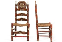 antique mexican chairs - come sit awhile and visit www ...