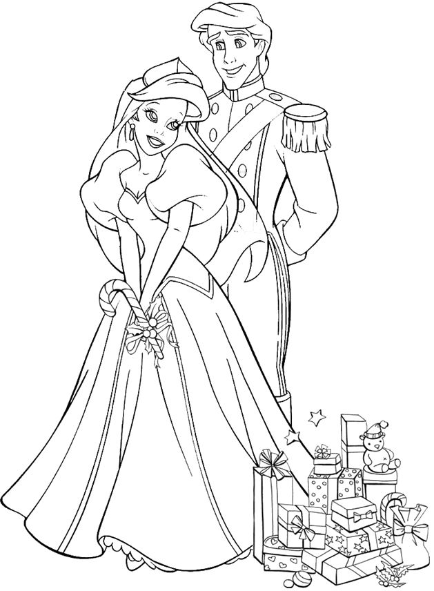 151 best Free Coloring Pages | Disney/Pixar, Animals ... | free printable disney princess christmas coloring pages