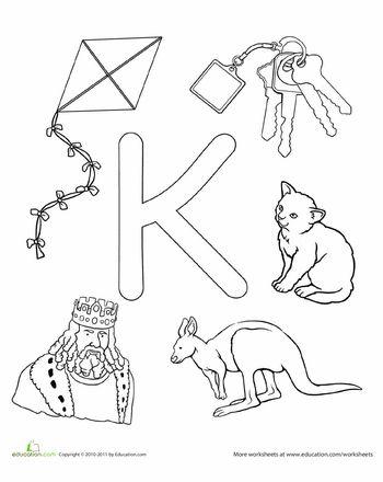 17 Best images about Letter K Crafts on Pinterest