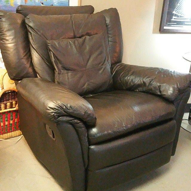 who makes arhaus leather sofas shop sofa great natuzzi black swivel/rocker/recliner. add a pillow ...