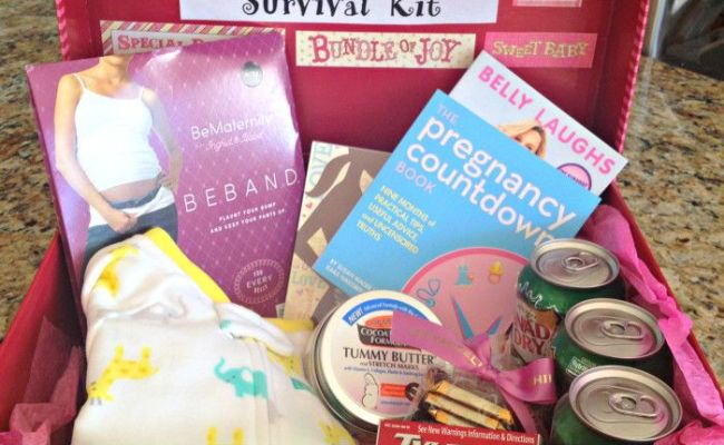 Pregnancy Survival Kit A Great Gift For Expectant