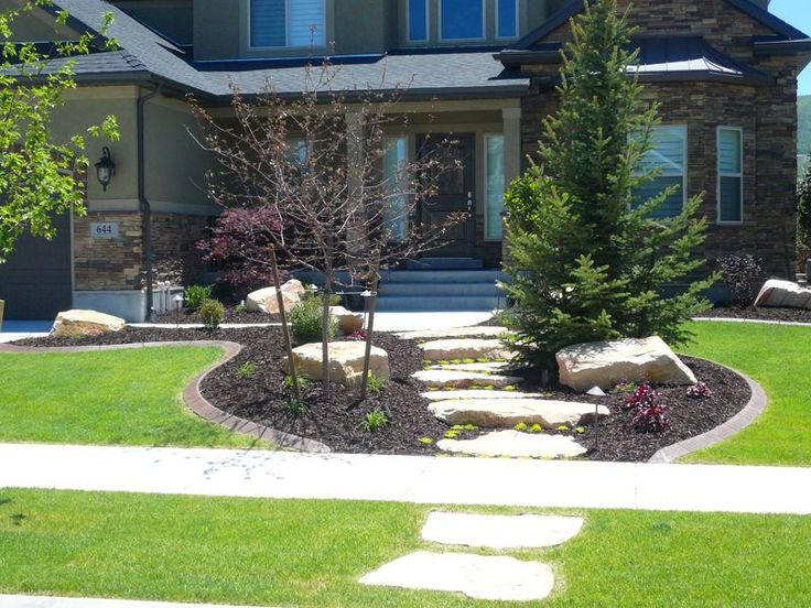 404 Best Images About FRONT YARD LANDSCAPING IDEAS On