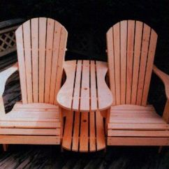 Double Camping Chairs Folding Heavy Duty Office Chair Mat Plans For Adirondack Template - Woodworking Projects &
