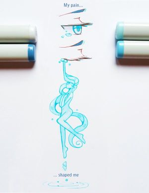 easy drawings marker markers copic projects drawing poses deviant