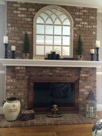 25+ best Mirror Above Fireplace ideas on Pinterest | Fake ...
