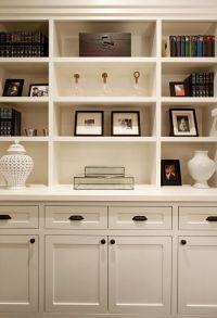 family room bookshelf with built in cabinets   bookshelf ...