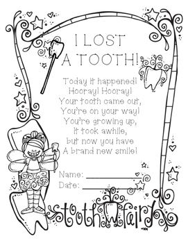 25+ best ideas about Tooth Fairy Certificate on Pinterest