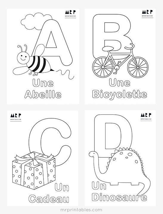 25+ best ideas about Alphabet Coloring Pages on Pinterest