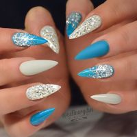 Best 25+ Blue stiletto nails ideas on Pinterest | Claw ...