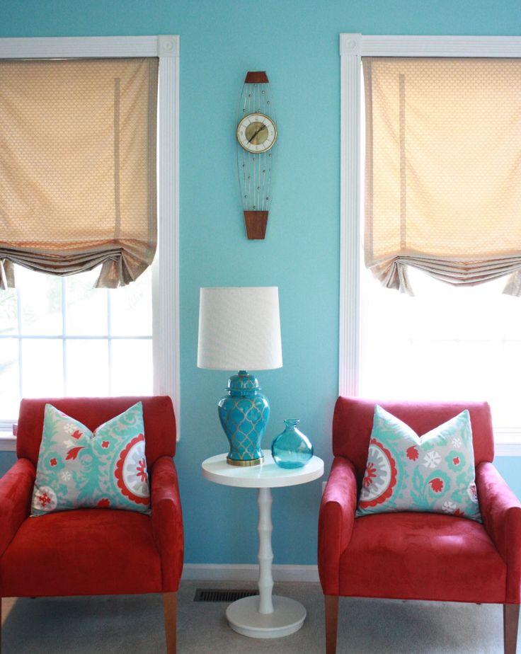 25+ best Aqua living rooms ideas on Pinterest