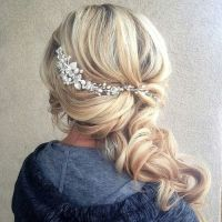 25+ best ideas about Wedding hairstyles side on Pinterest