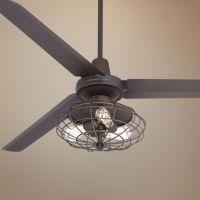 "60"" Casa Vieja Turbina Nostalgic Bronze Ceiling Fan ..."