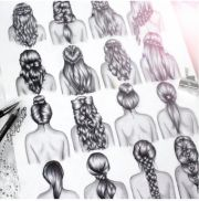 hair drawings art lessons tips