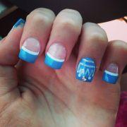 princess crown nails nail design