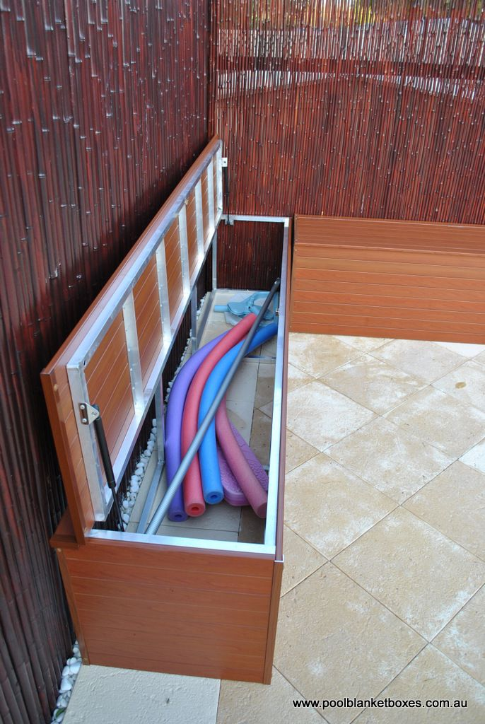 Pool Blanket Boxes WoodWorking Projects Amp Plans