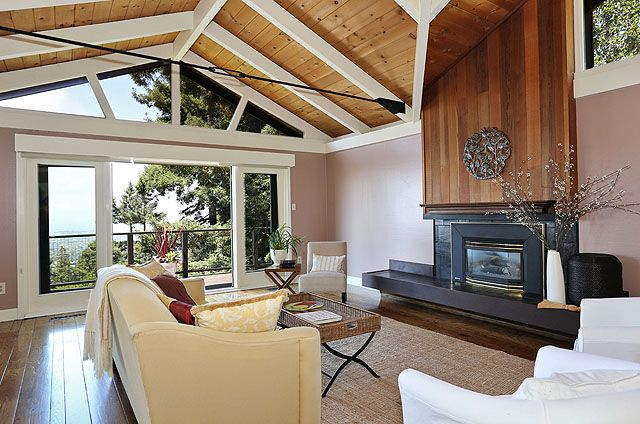 1970s Contemporary Vaulted Ceilings Amp Stylish Updates
