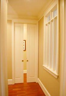 sliding pocket door bathroom bathroom pocket doors - Google Search | Basement Ideas | Pinterest | Pocket doors, Search and Closet