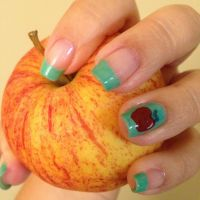 1000+ ideas about Colored French Tips on Pinterest ...