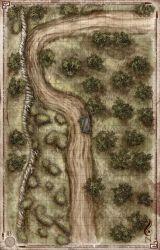 maps forest map rpg ambush encounter dungeon fantasy tabletop highway dnd strahd phandelver pathfinder dungeons dragons curse lost road maker