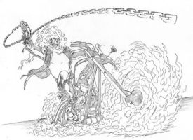 Free Ghost Rider Coloring Page   Superheroes Coloring ...