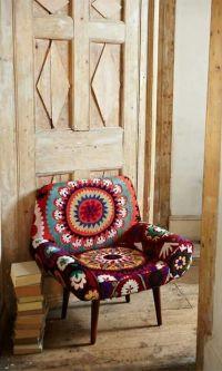 Fun chair via Folt Bolt | Boho Exotic Hanok | Pinterest ...