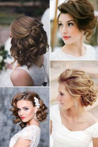 17 Best images about Wedding Hair on Pinterest | Messy bob ...