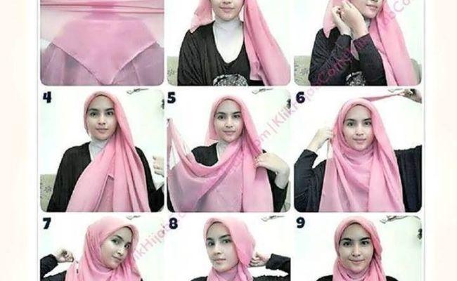 My Hijab Cool Hijab Tutorial With Chest Coverage Hijab Style Tutorial Square Hijab Tutorial Dubai Khalifa