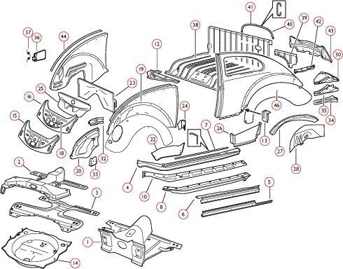 Best 25+ Vw beetle parts ideas on Pinterest