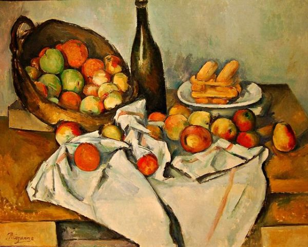 PAUL CEZANNE French Postimpressionist Still Life with