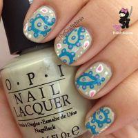 10 Best ideas about Paisley Nail Art on Pinterest | Finger ...