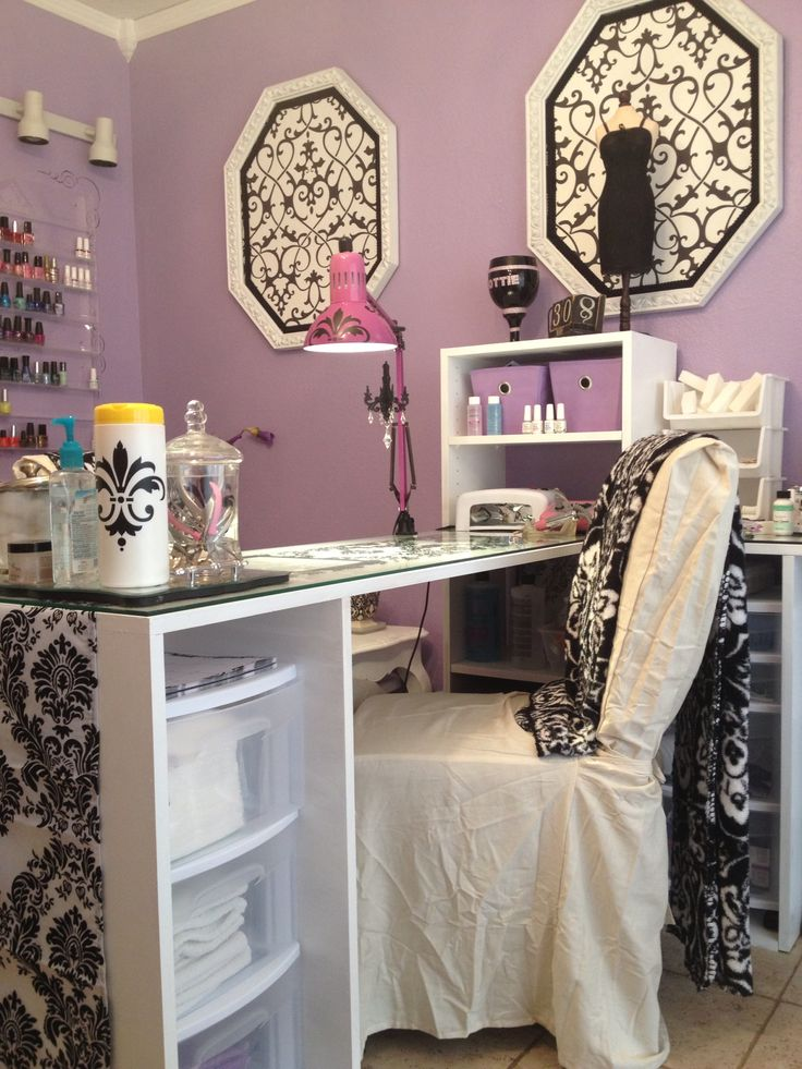 25 best Manicure table ideas on Pinterest  Nail station Manicure station and Nail studio