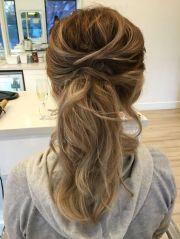 1000 ideas bridesmaid ponytail
