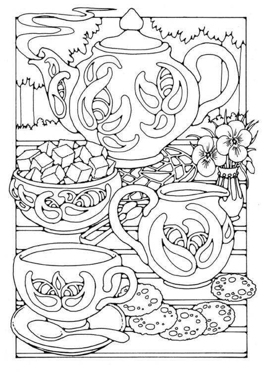 34 best images about Coloring-in for Seniors on Pinterest