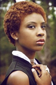 auburn twa natural hair