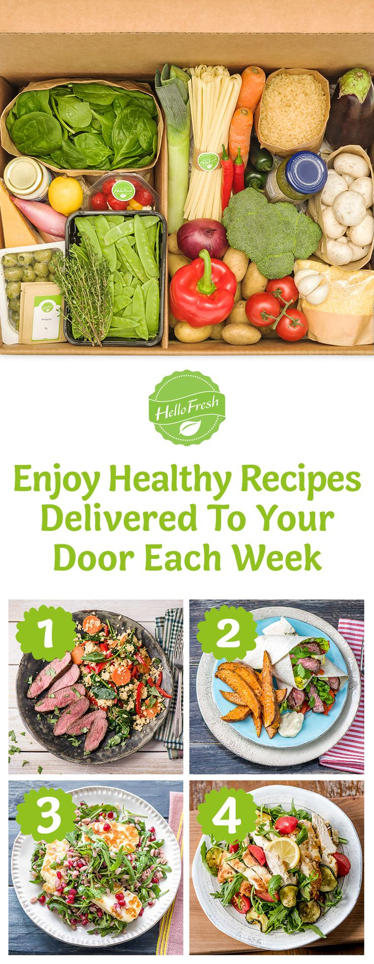1st step to eating and feeling healthier is as easy as your 1st HelloFresh Box! ➜ Use code HELLOPIN35 at checkout to save $35 on