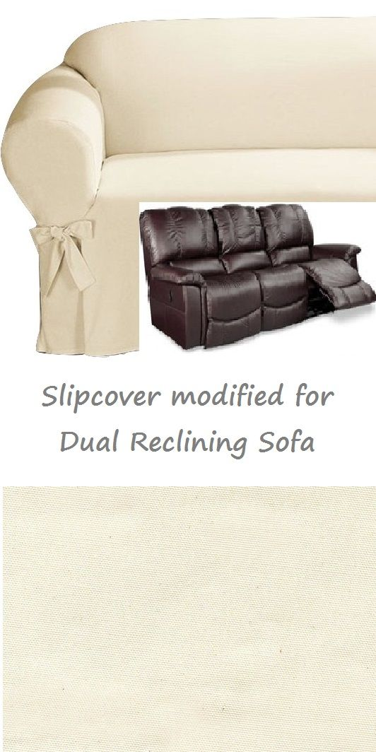 cotton recliner chair covers hideaway table and chairs 17 best images about slipcover 4 couch on pinterest | taupe, black suede love seat