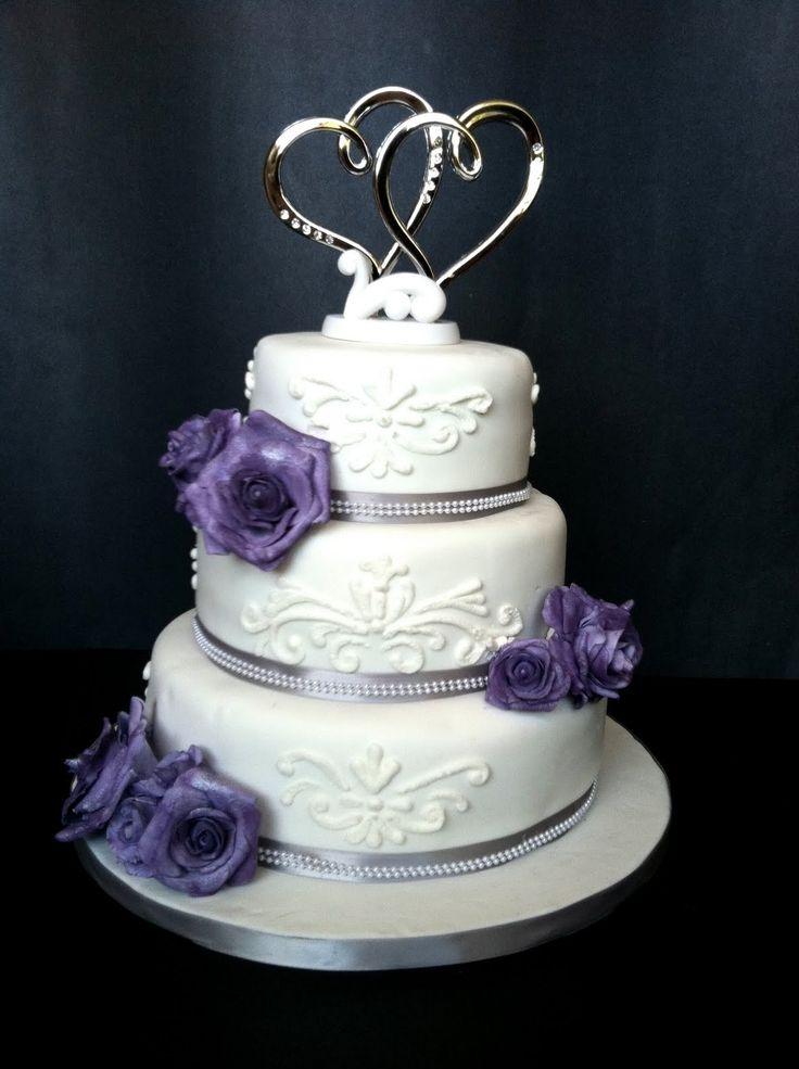 25 best ideas about Purple silver wedding on Pinterest