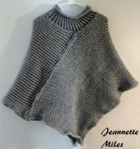 19 best images about loom knit poncho on Pinterest ...
