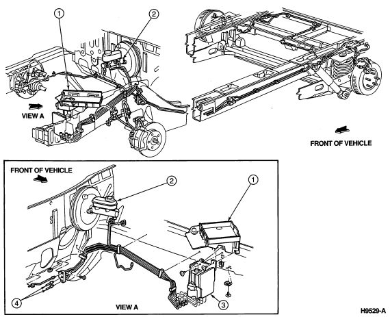 95 f350 brake wiring schematic
