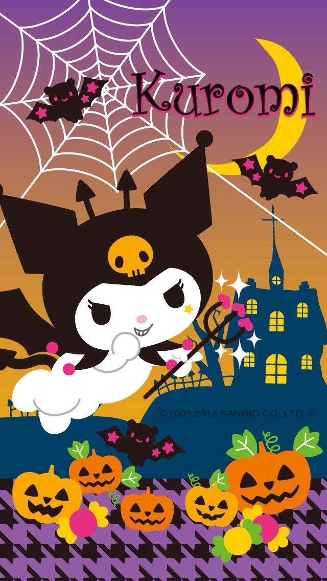 Pusheen Wallpaper Fall Kuromi Halloween Hello Kitty Amp Friends Pinterest
