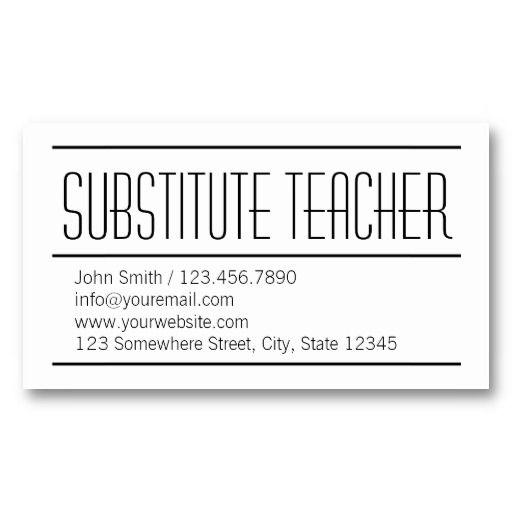 25+ best ideas about Teacher business cards on Pinterest