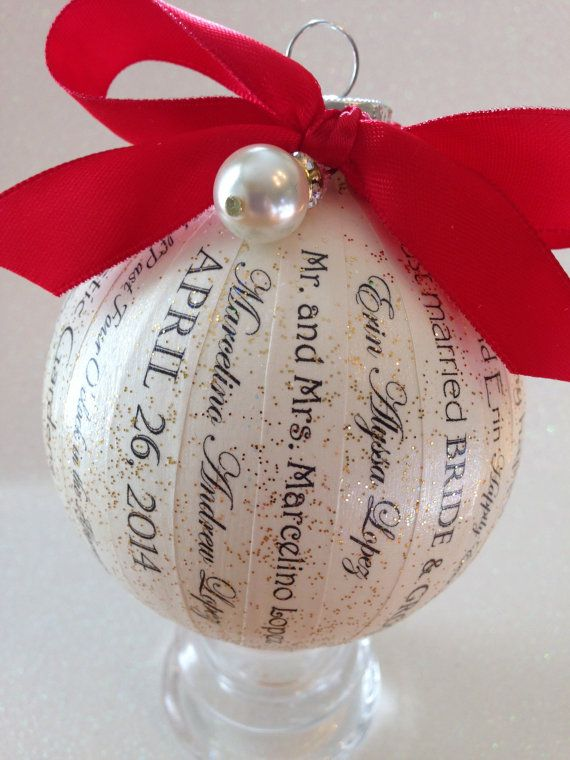 25 best ideas about First christmas married on Pinterest  First christmas together ornament