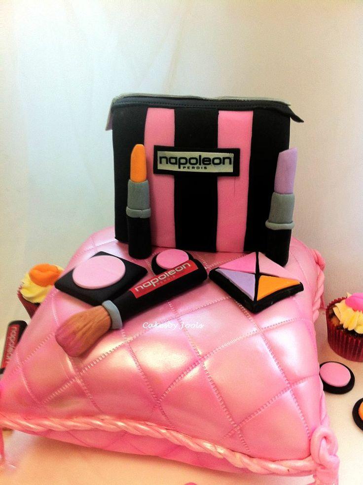 Laras 9th Birthday Pamper Party Cake My Birthday Cakes