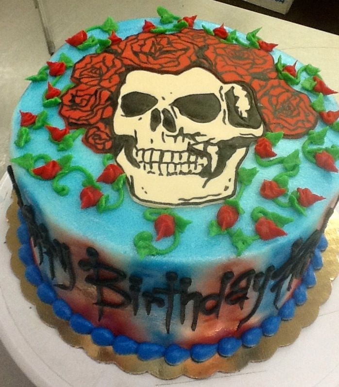 Grateful Dead Cake At Sweet Boutique Cakes Cake Witch