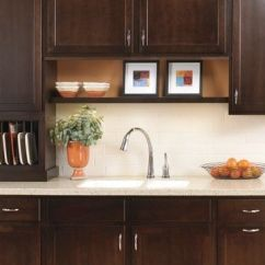 Kitchen Cabinet Feet Lowes Sinks Stainless Secrest Birch In Twilight, The Darkest Finish Available ...