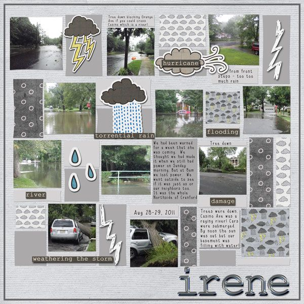 19 best images about Rainy Days Scrapbook Layouts on Pinterest