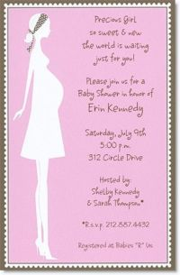 10 best Simple Design Baby Shower Invitations Wording ...